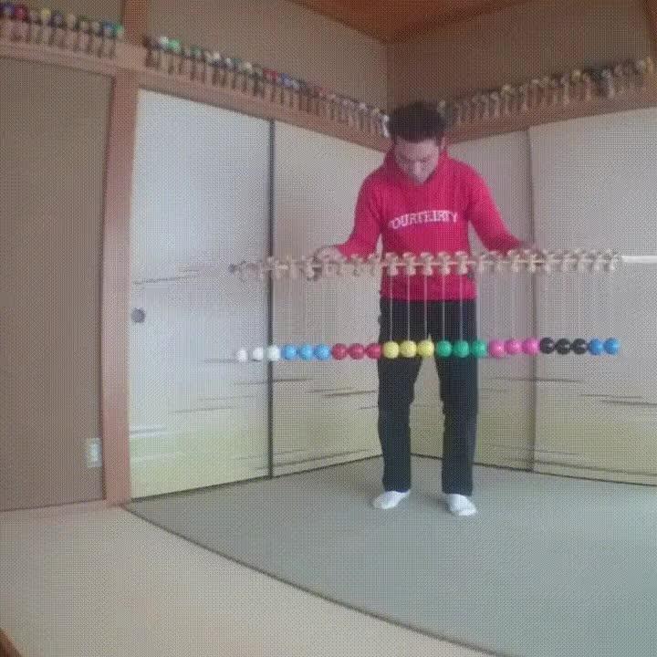 Enlace a Espectacular truco con 23 bolitas