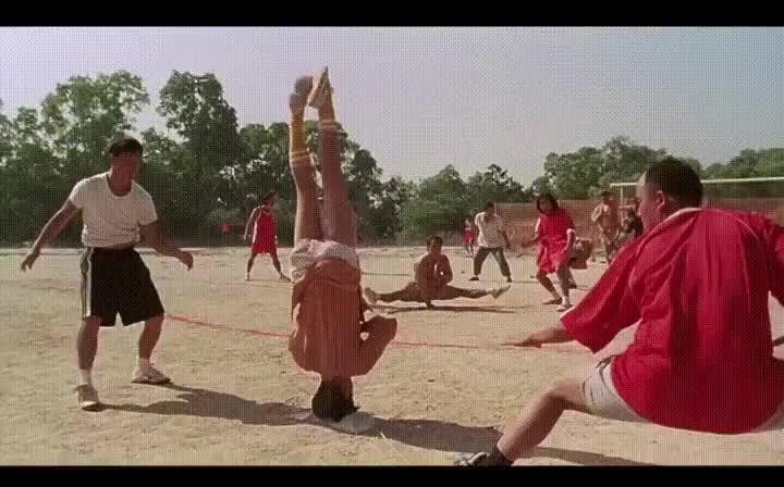 Enlace a Shaolin Soccer, los primeros en hacer el reto del maniquí