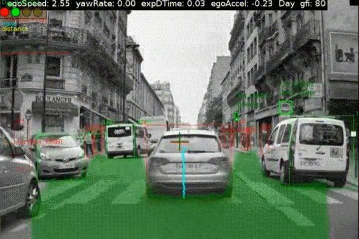 Enlace a Lo que ve el piloto automático de un coche mientras conduce