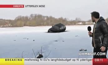 Enlace a Como podéis ver el hielo es tan grueso como para soportar el peso de... oh no