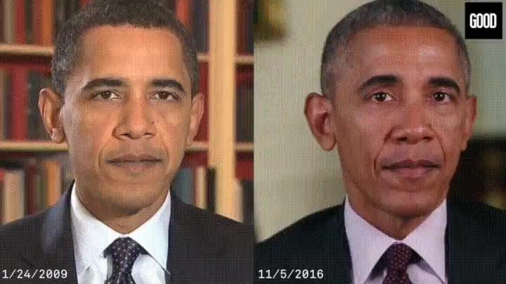 Enlace a Timelapse de los últimos 8 años de Barack Obama
