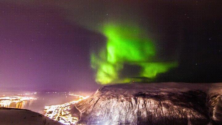Enlace a Noruega es uno de los sitios más bonitos que puedes visitar