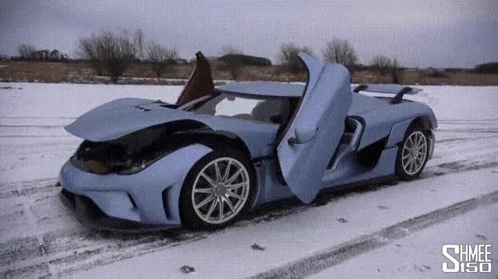Enlace a El espectacular Koenigsegg Regera en acción