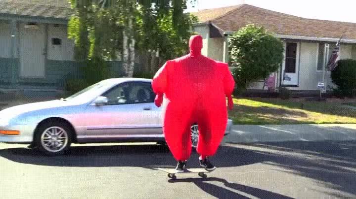 Enlace a Puede que no sea la forma más cómoda de salir a pasear con el skate