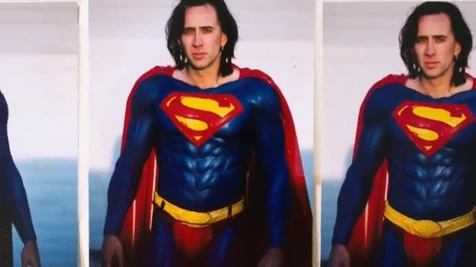 Enlace a Lo que podría haber sido Superman si hubiesen contratado a Nicolas Cage