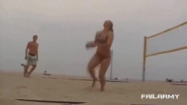 Enlace a Ven a jugar a Volley, es un deporte de lo más pacífico