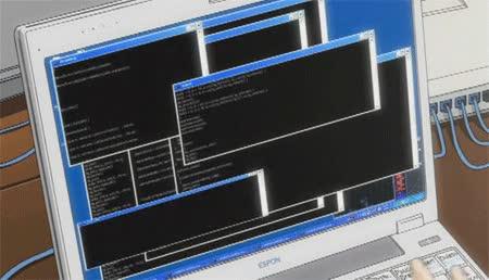 Enlace a Lo que la gente se imagina que hago cuando les digo que soy programador informático