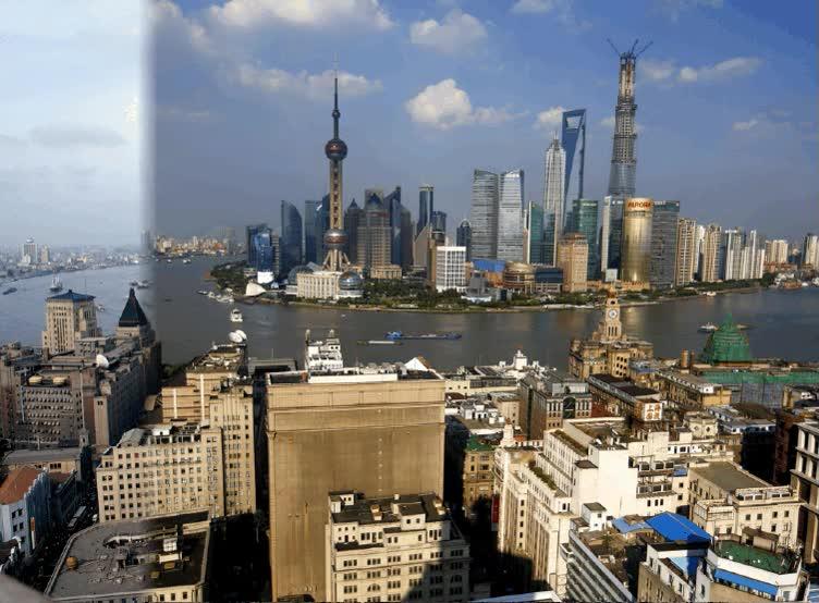 Enlace a Shanghai - 1987 vs 2013