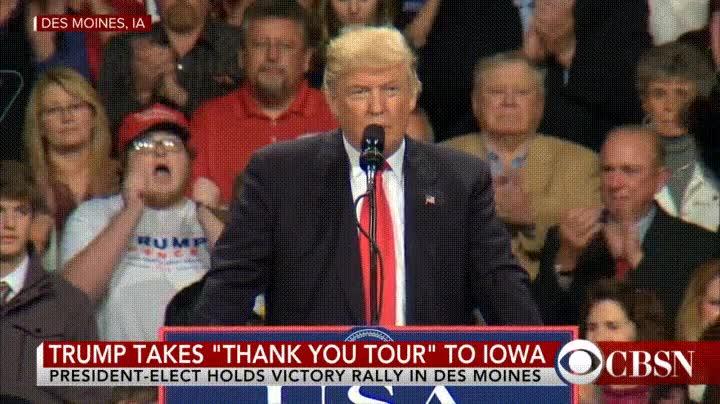 Enlace a El seguidor más eufórico de Donald Trump
