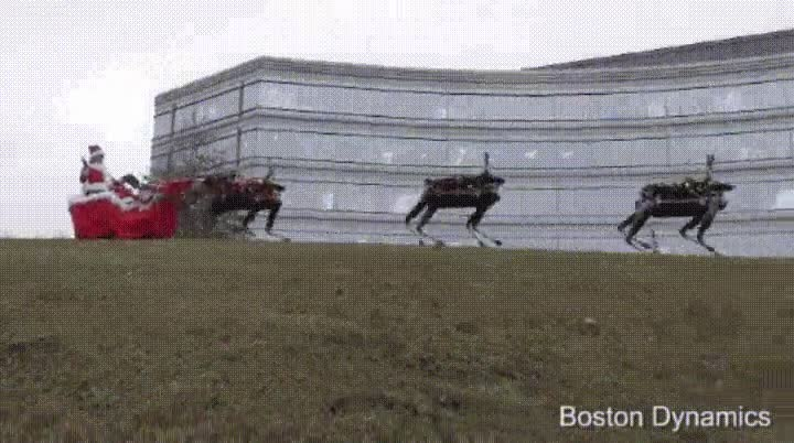 Enlace a Boston Dynamics lo ha vuelto a hacer. Las navidades del futuro
