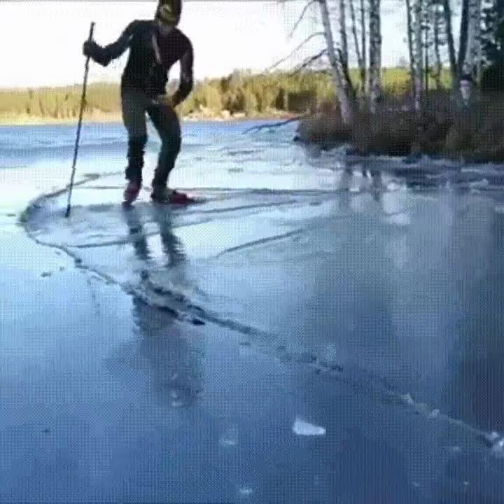 Enlace a Patinando sobre hielo nivel extremo