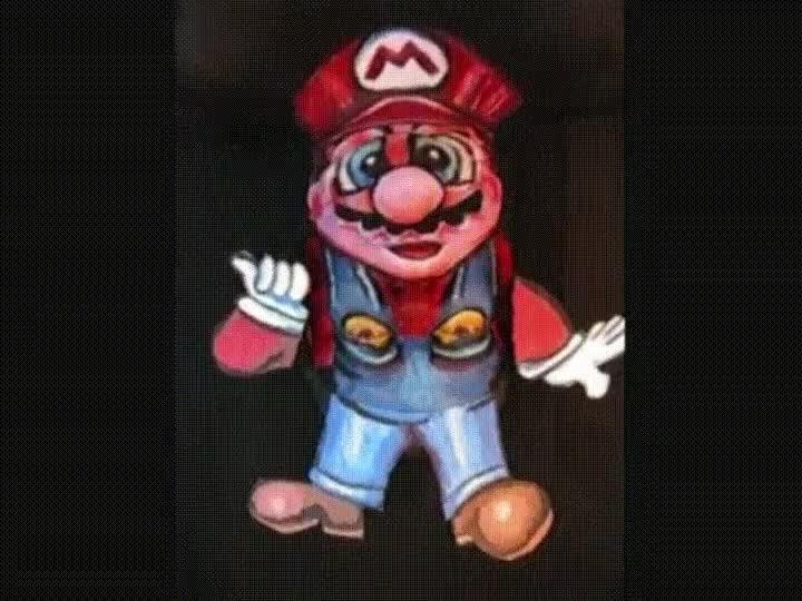 Enlace a Aunque sea Mario da un poco de mal rollo