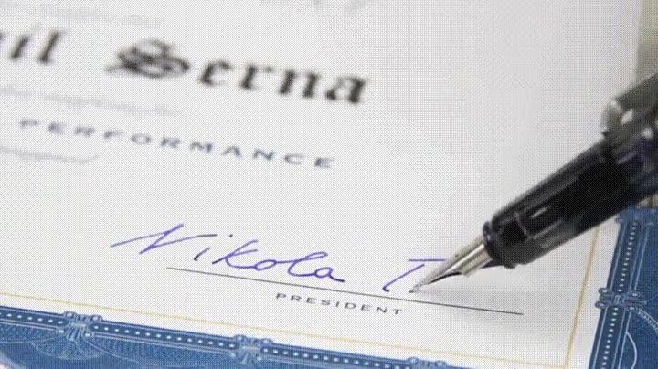 Enlace a La magia de los diplomas firmados por Nikola Tesla