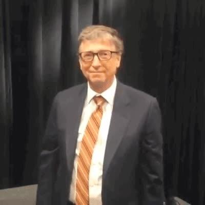 Enlace a Lo que pasa cuando Bill Gates intenta hacer un dab