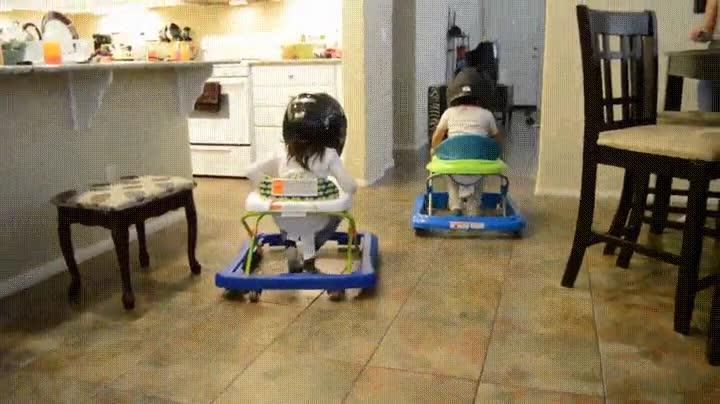 Enlace a La forma más segura de que tus hijos compitan por saber quién es el más rápido
