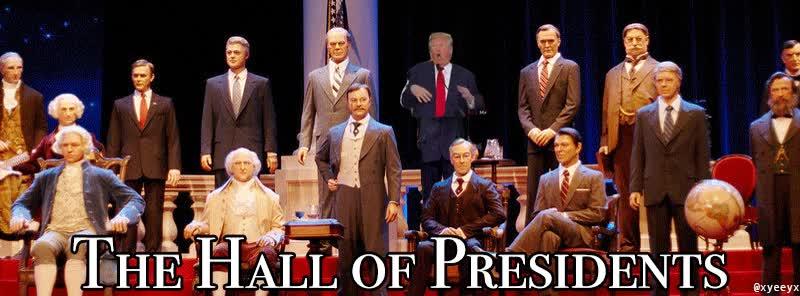 Enlace a El Hall of Fame de los Presidentes de los Estados Unidos