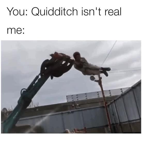 Enlace a Y decían que era imposible jugar a Quidditch en la vida real
