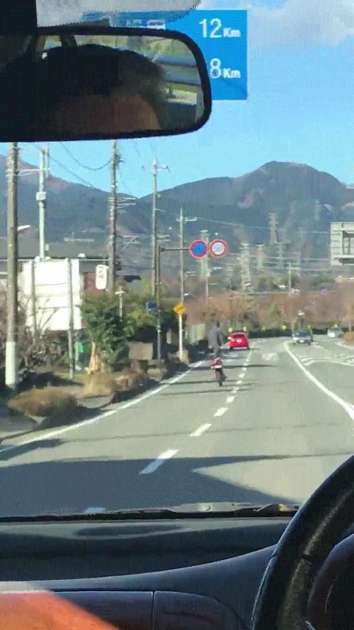 Enlace a Un día como cualquier otra en las carreteras de Japón