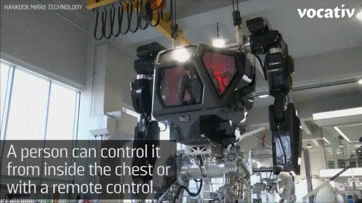 Enlace a Pronto los típicos robots que vemos en los animes serán una realidad