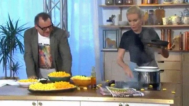 Enlace a Liándola en una programa de cocina en directo