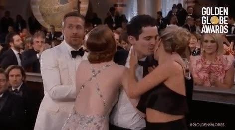 Enlace a El momento más incómodo de Emma Stone en los Globos de Oro