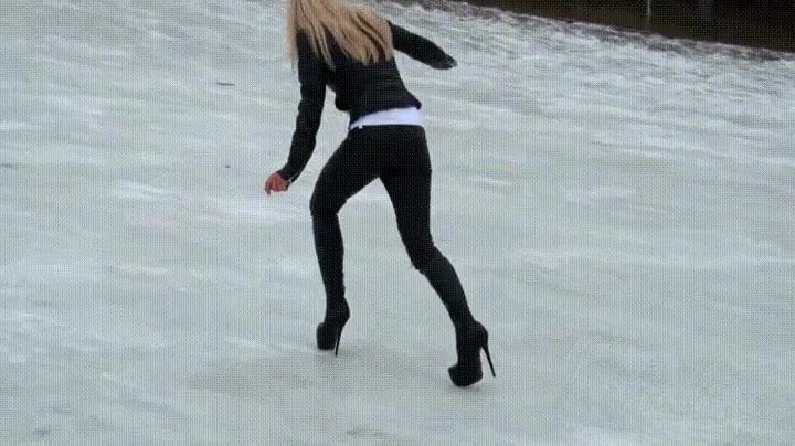 Enlace a Por este motivo nadie va por la nieve en tacones