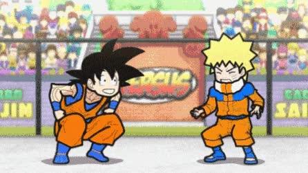 Enlace a Goku vs Naruto