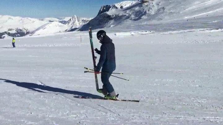 Enlace a Vacilando de habilidad con los esquís