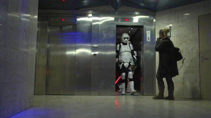 Enlace a Cuando tu vida parece una película de Star Wars