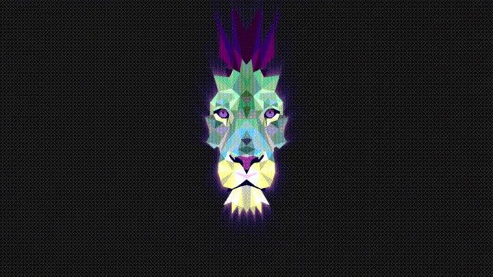 Enlace a Creando un león a partir de polígonos