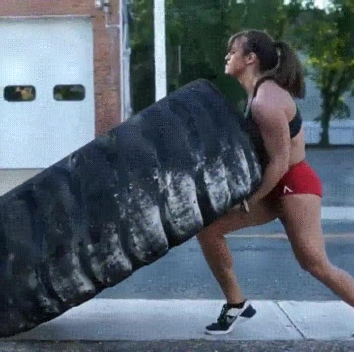 Enlace a Una de las mujeres más fuertes del mundo