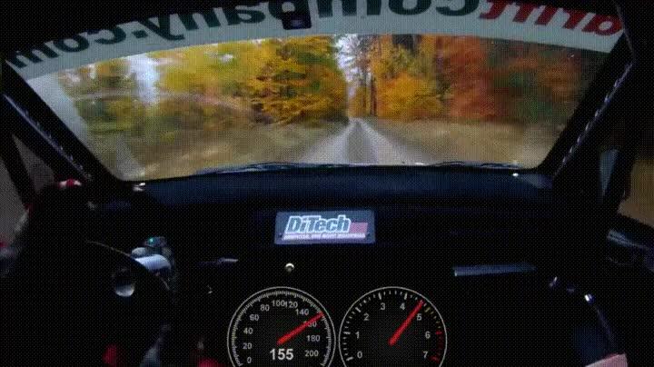 Enlace a La sensación de ir a 206 km/h en un rally. De locos