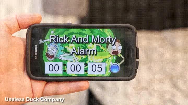 Enlace a La mejor alarma para los fans de Rick and Morty