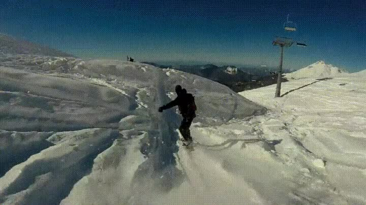 Enlace a Haciendo un Backflip perfecto en la tabla de snow