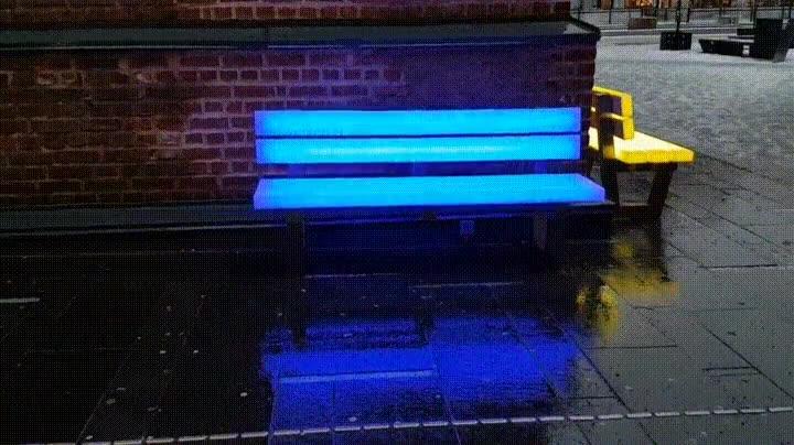 Enlace a La nueva forma de dar color a los bancos de tu ciudad