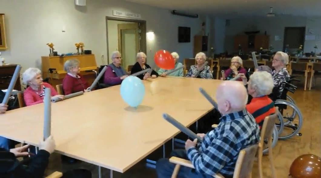 Enlace a Una buena forma de hacer que la gente mayor haga ejercicio