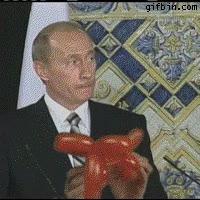 Enlace a Putin demostrando lo mejor que sabe hacer