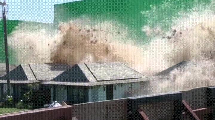 Enlace a Así se grabaron las escenas del tsunami en
