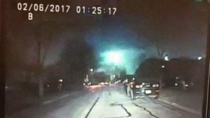 Enlace a Así fue el meteorito que cayó hace unos días en Chicago