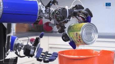 Enlace a ARMAR-III, un robot capaz de prepararte una ensalada