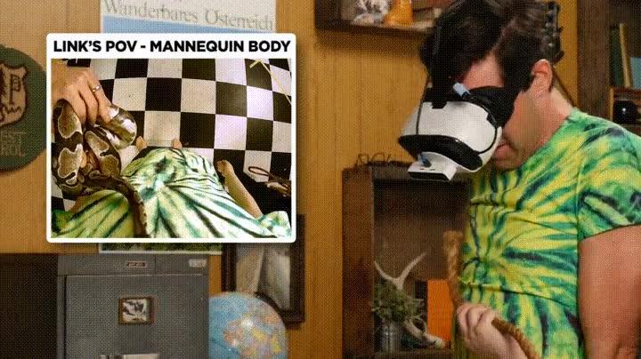Enlace a Probando la Realidad Virtual cambiando de cuerpo con un maniquí