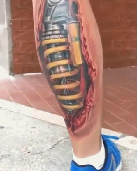 Enlace a Tatuajes tan realistas que dan bastante mal rollo