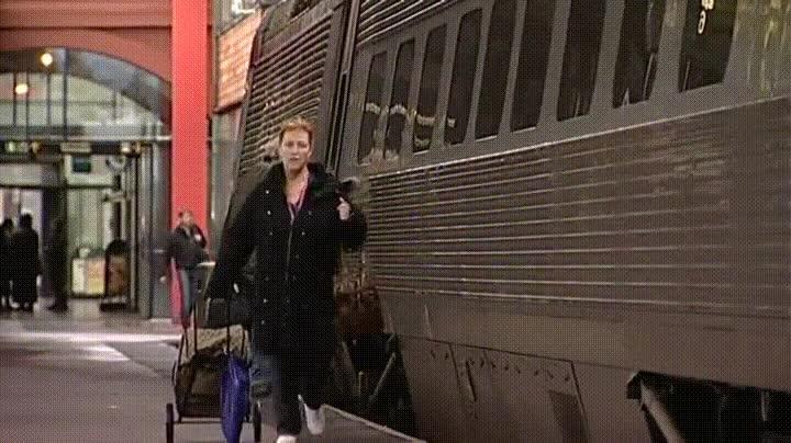 Enlace a Cuando pierdes el tren solo puedes reaccionar de una de estas dos formas