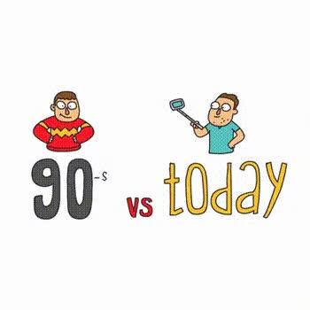 Enlace a Los 90 vs Hoy