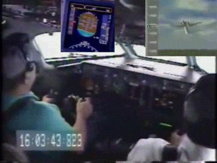 Enlace a Prácticas de vuelo un tanto peligrosas, Yo no me vuelvo a subir a un avión