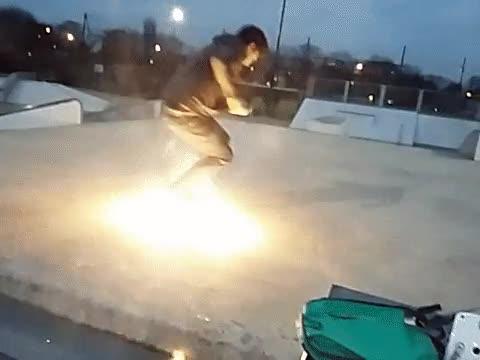 Enlace a Podemos decir sin miedo a equivocarnos que este skater está realmente onfire