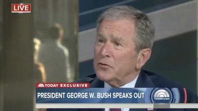 Enlace a Cada vez que George Bush sonríe se contraen todos los músculos de su cara