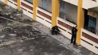 Enlace a Ejercicio de prácticas de la policía de Vietnam