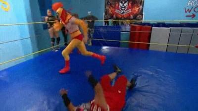 Enlace a Conan O'Brien se pasa a la lucha libre