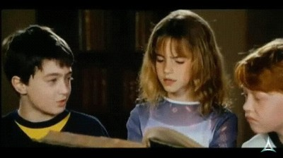 Enlace a Emma Watson viendo como de pequeña estropeaba las escenas recitando las frases de sus compañeros